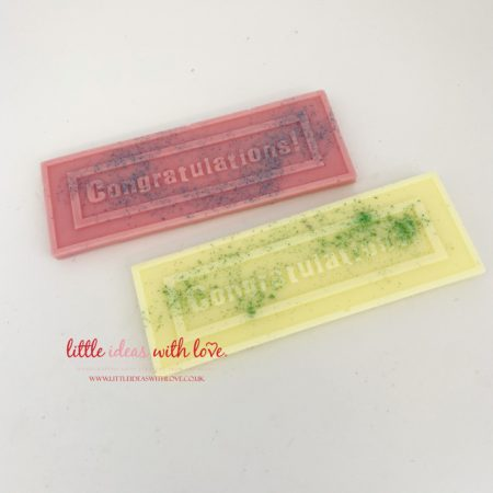 Congratulations Wax Rectangle Boxed