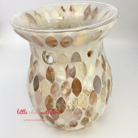 Mother Of Pearl Wax Tea Light Warmer