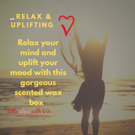 Relax & Uplifting Scented Soy Box