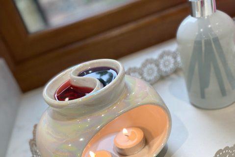 New Double Melt Wax Warmer