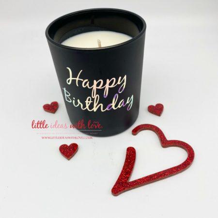 Happy Birthday Luxury Candles