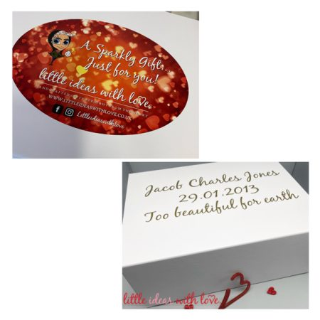 White Magnetic Gift Box